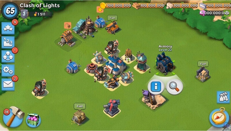 Boom Beach Game Supercell Free