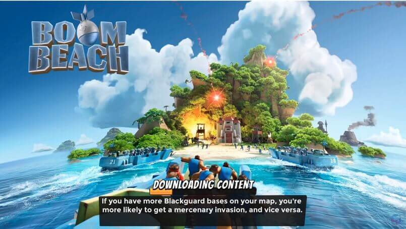 Boom Beach PC Download Online Game