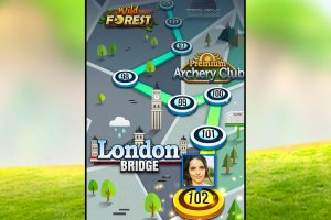 archery king game map