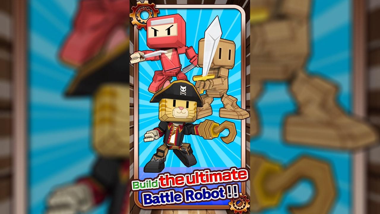Battle Robots Battle Ultimate Robot