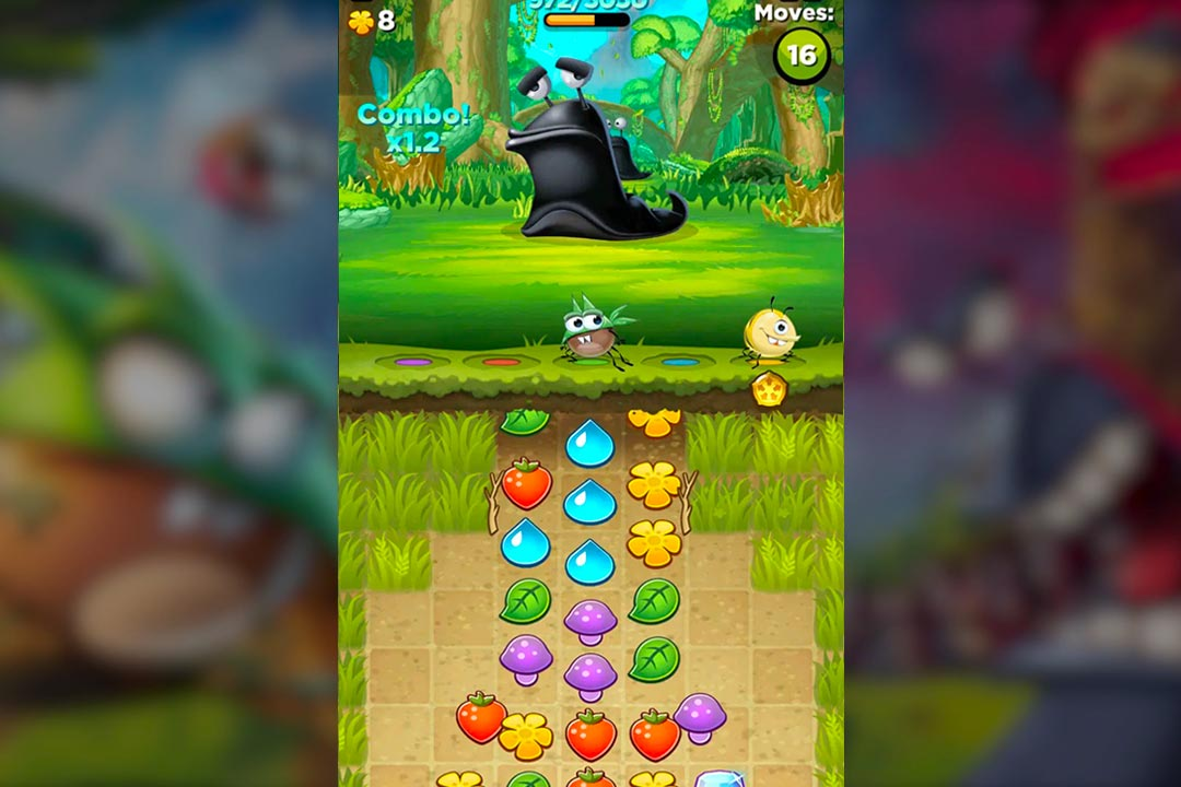 best fiends combo moves