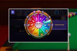 billiard spin rewards