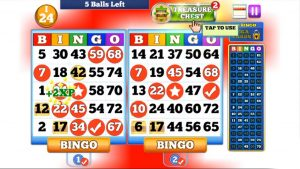 bingo card game offline play
