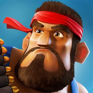 boom beach heavy bearded wears red bandana
