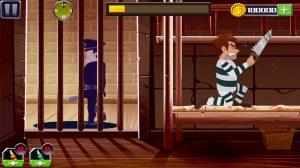 break the prison prisoner sawing the bed