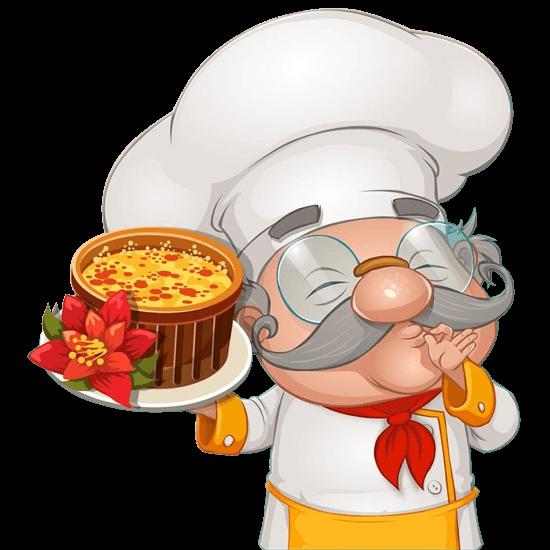 cafeland head chef presents delicious stew