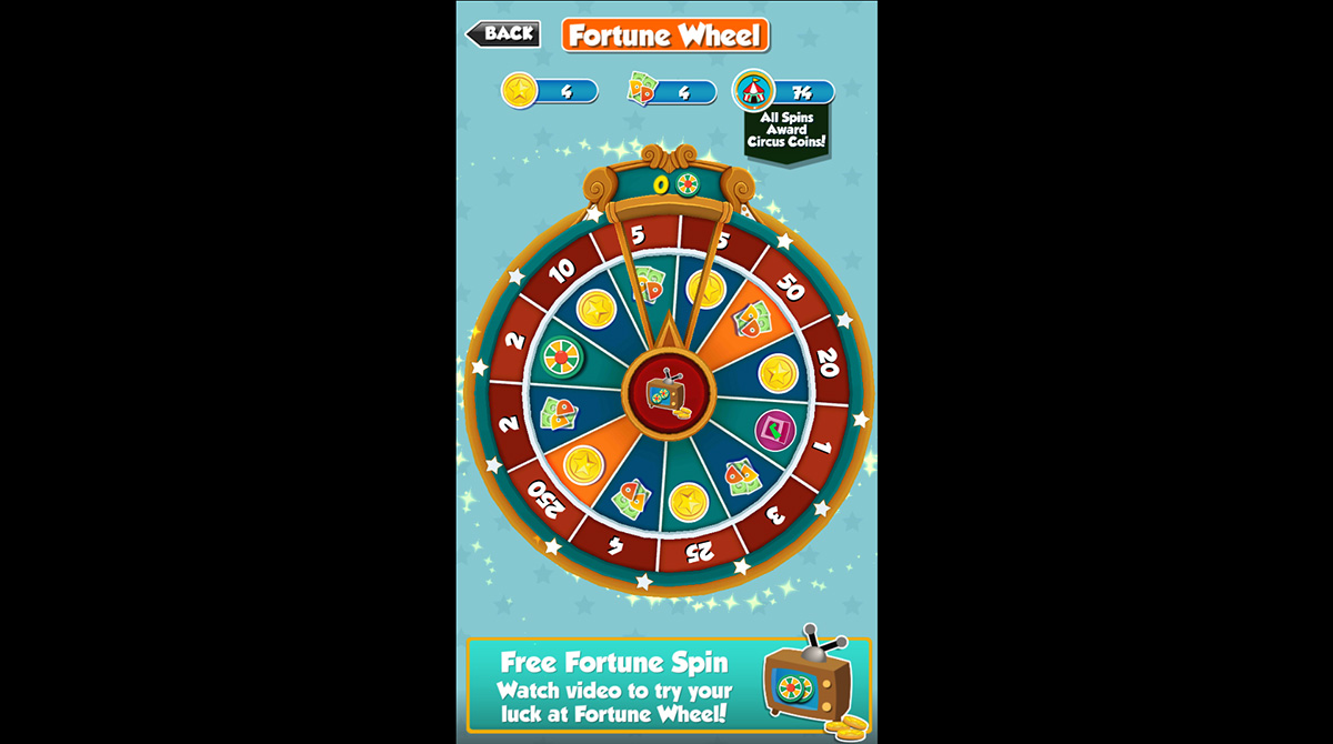 coin dozer fortune wheel for free gifts