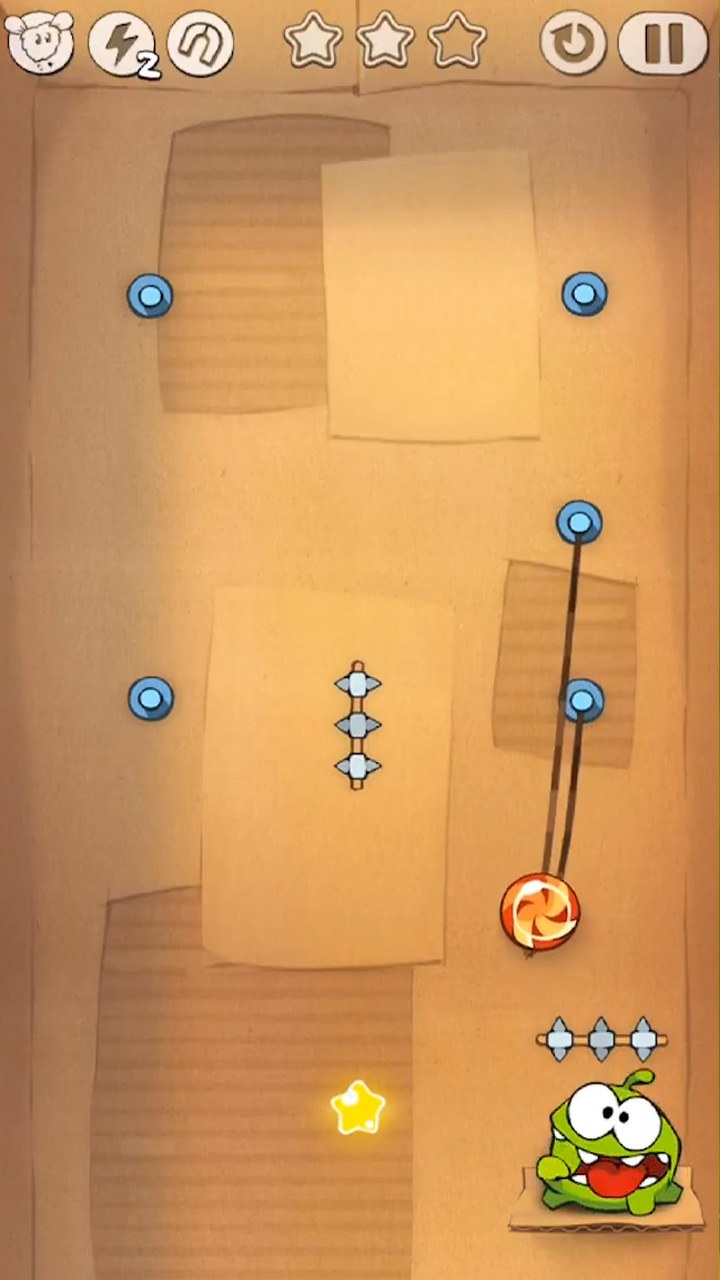 cut the rope omnom wants the roped candy