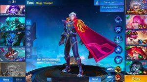 heroes arena eric mage reaper