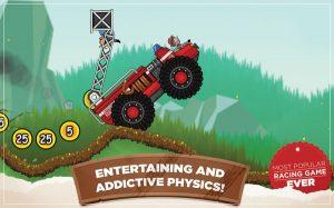 hill climb racing game physics