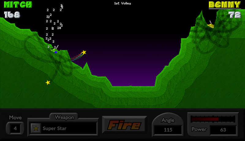 Pocket Tanks Fire The Weapon