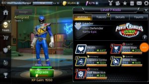 Power Rangers Legacy Wars BLue Ranger