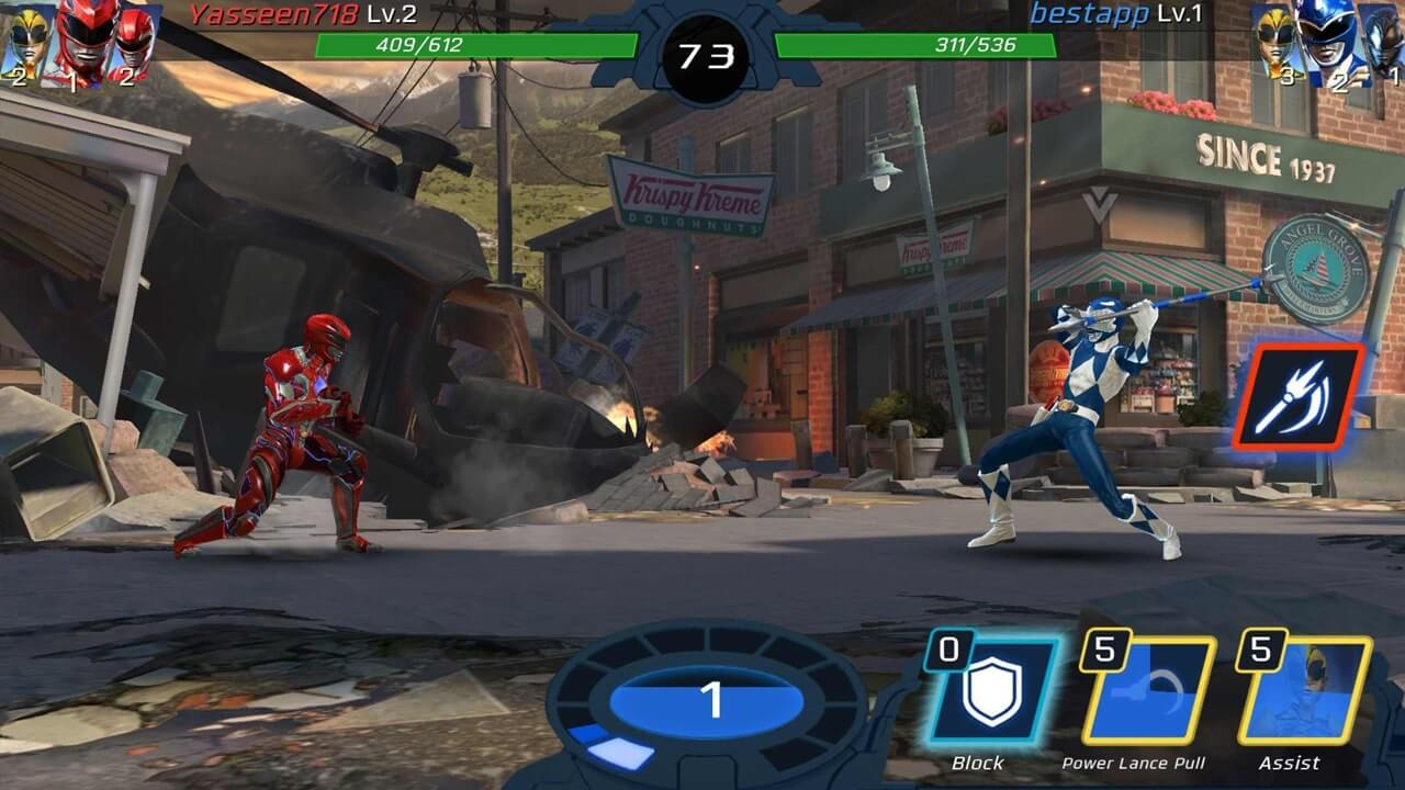 Power Rangers Legacy Wars Red vs Blue