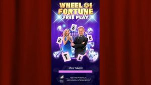 Wheel of Fortune Free Play Homescreen