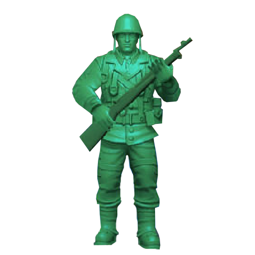 Army Men Strike Green Soldier