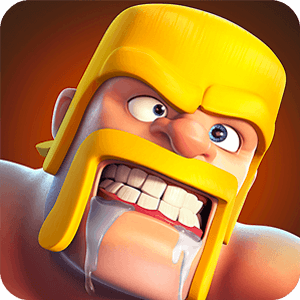 clash of clans barbarian drooling