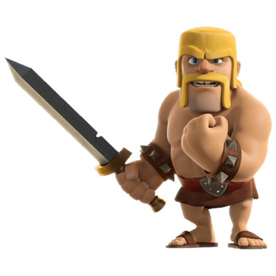 clash of clans character