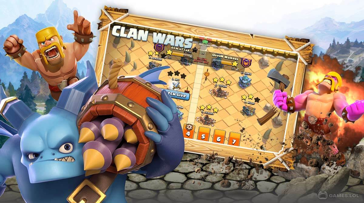 clash of clans download PC free