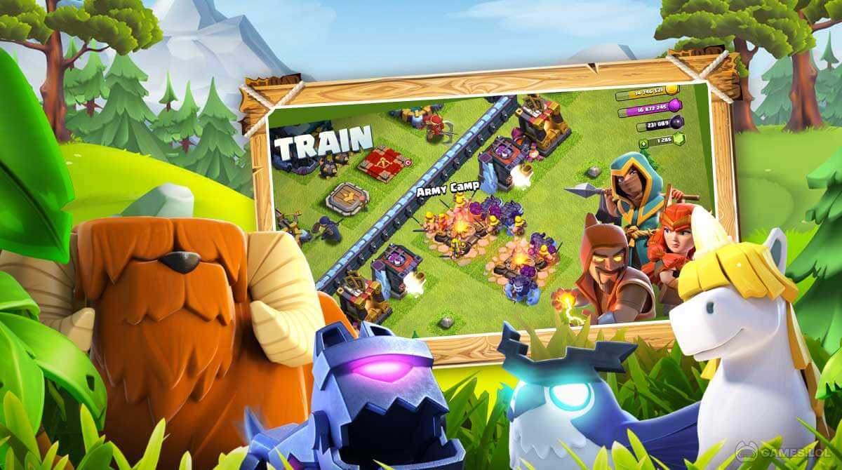 clash of clans download PC