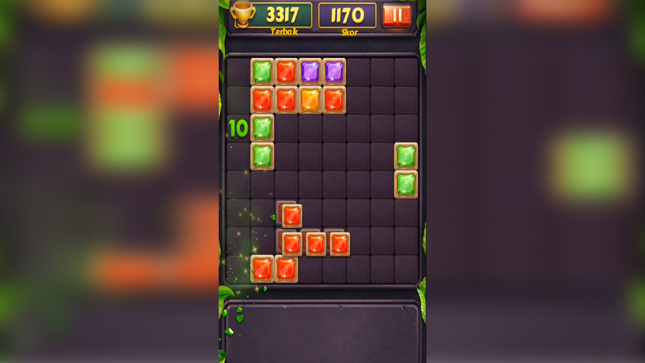 Plock Puzzle Jewel Gameplay