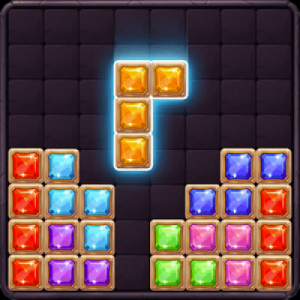 Colorful Puzzle Jewel Tiles