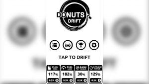 donut drift avoid obstacles