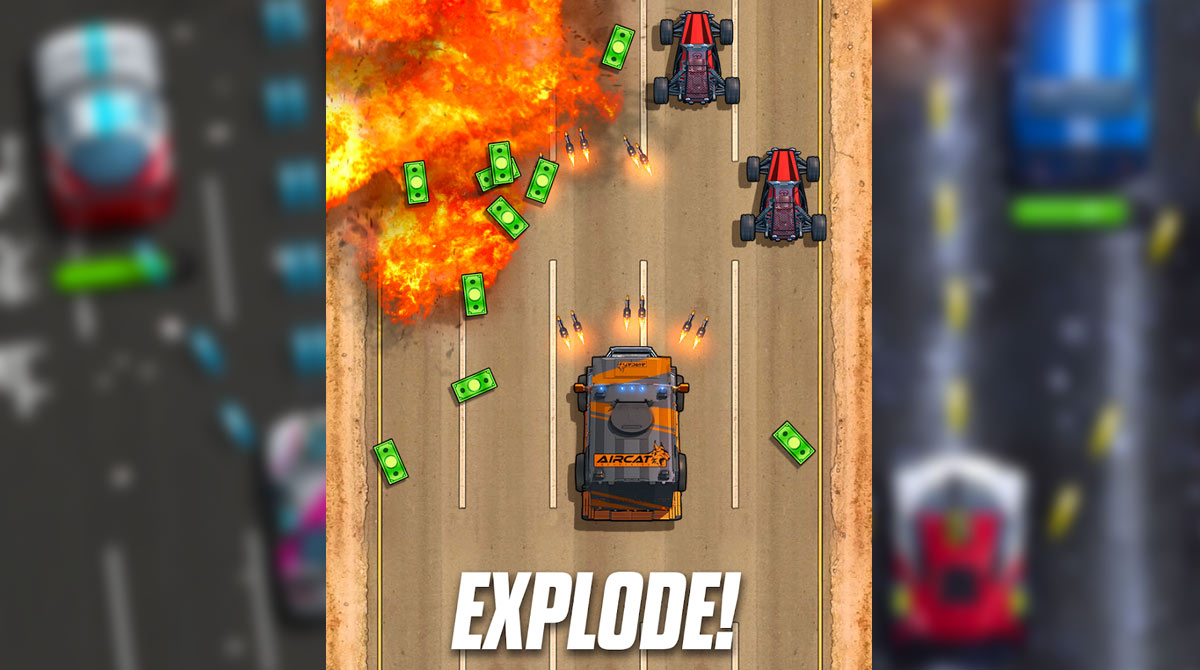 fastlane action packed racing game