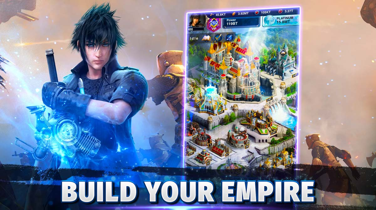 final fantasy build magical kingdom