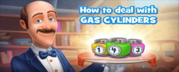 Gardenscapes: How to Get Rid of Gas Cylinders