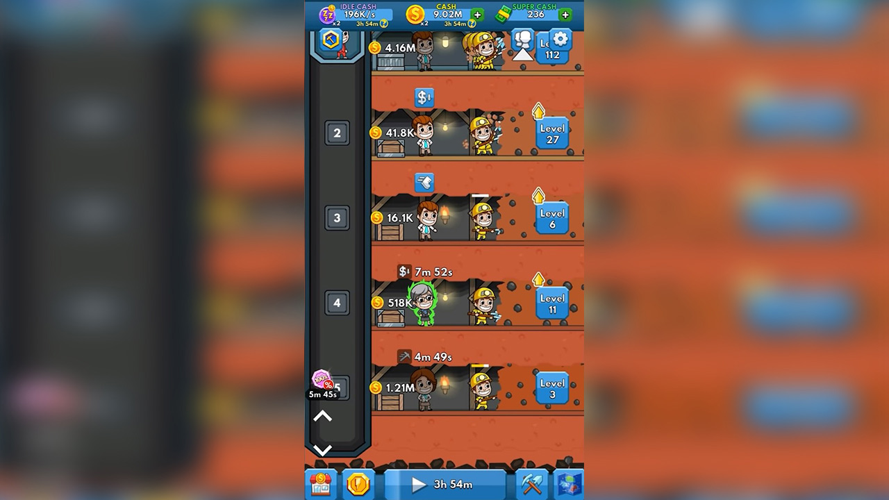 Idle Miner Tycoon Compete with Friends