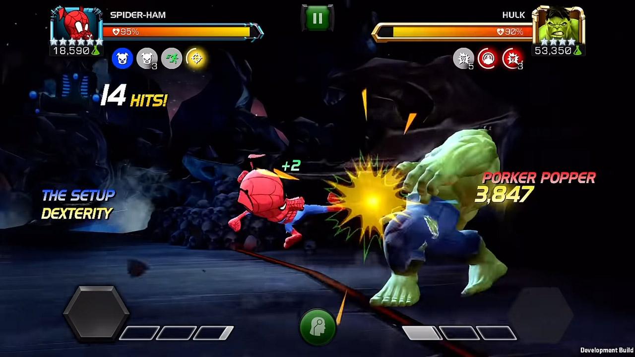 Marvel Contest Of Champions Battle