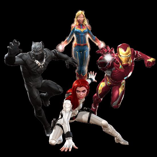 Marvel Contest of Champions Squad