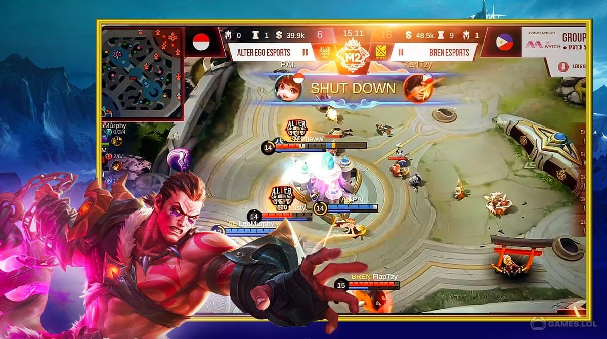 Download [MOBILE LEGENDS BANG BANG] for PC | Game, Heroes Guide
