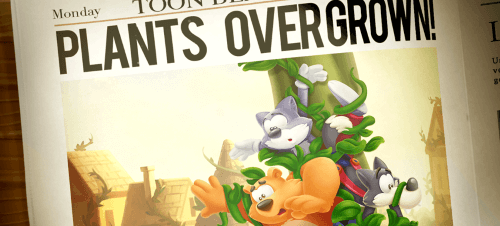 Clear the Ivy, before it outgrows you in Toon Blast!