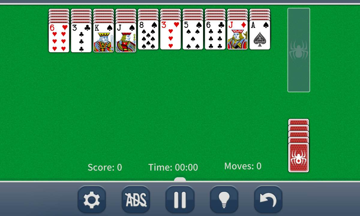 Spider Solitaire Classic gameplay pc