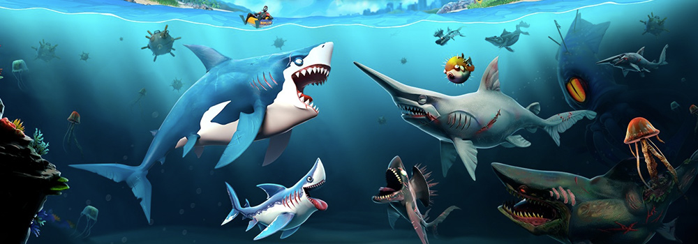 hungry shark world free pc download