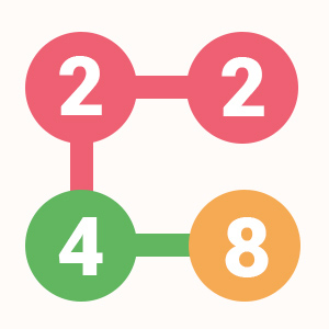 2 for 2 connect the numbers puzzle challenge