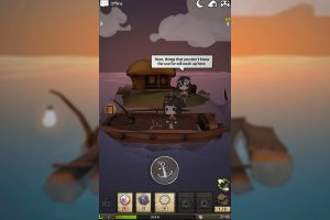 a girl adrift boat ride
