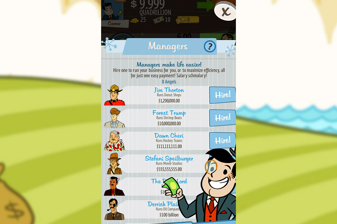 adVenture capitalist managers