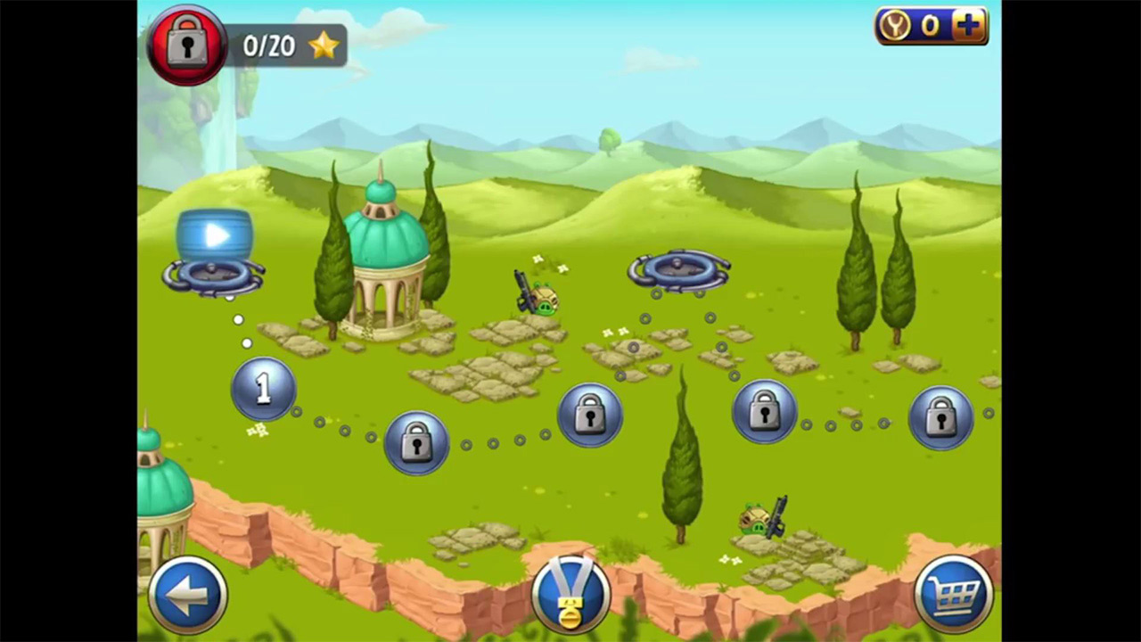 Angry Birds Star Wars Accomplished Level