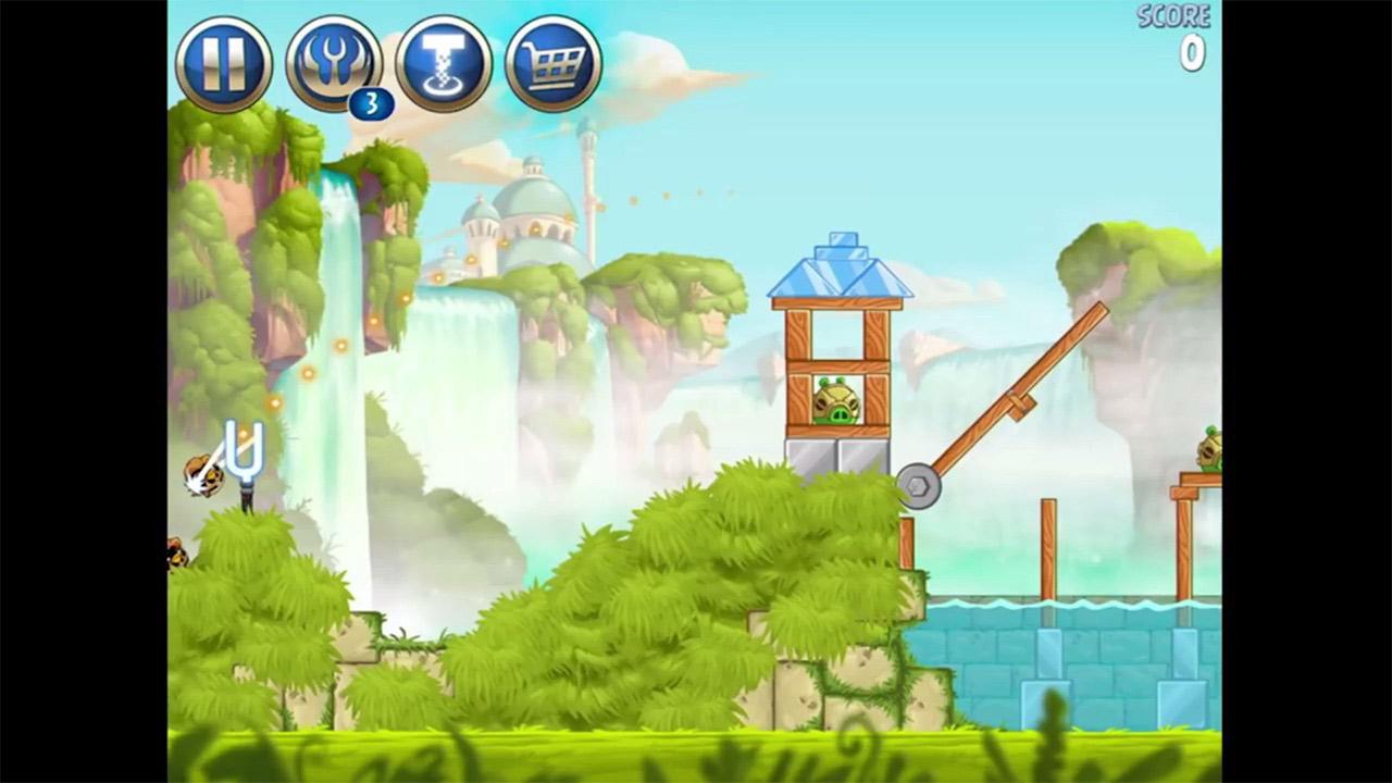 Angry Birds Star Wars Target Aim