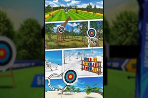 archery 3d shooting scenery