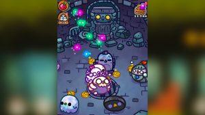 chichens harvesting energy balls