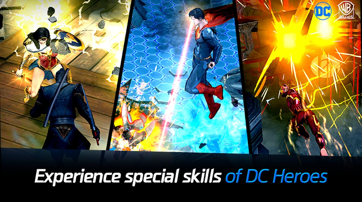 dcunchained superheroes power highlights