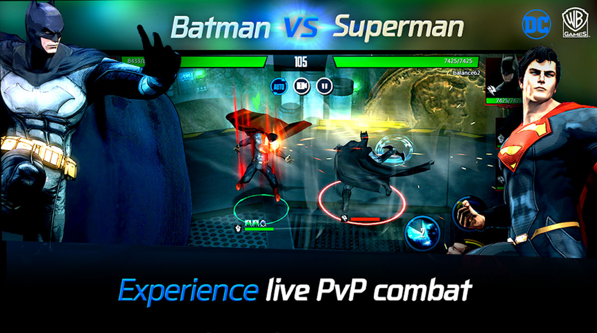 dcunchained batman and superman duel