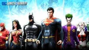 DCUnchained superman and the justice league