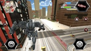 dragon robot battle robot searching enemies