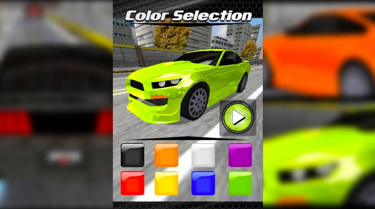 fatal driver customize car color