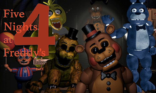 Play Five Nights at Freddy's 4 on PC