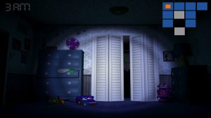 fnf flash light at the closet